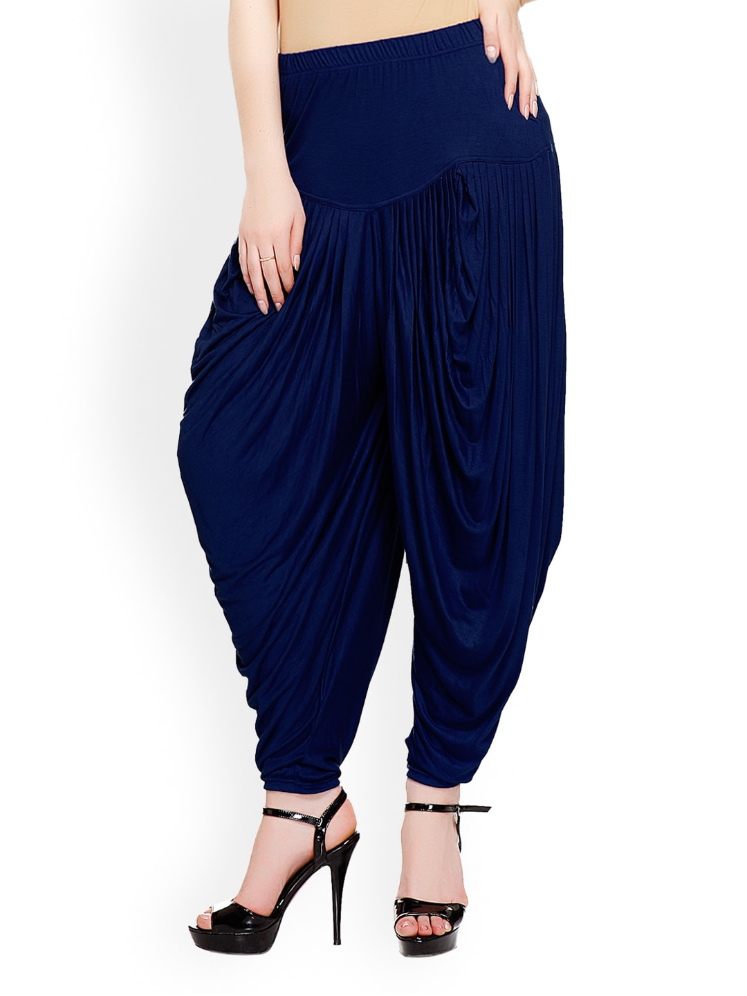 Harem Pants Check out that new got-to-have-it trend —a pair of harem pants! Look for the trademark elastic ankles and dropped waist for unmistakably cool style that goes anywhere (really!).