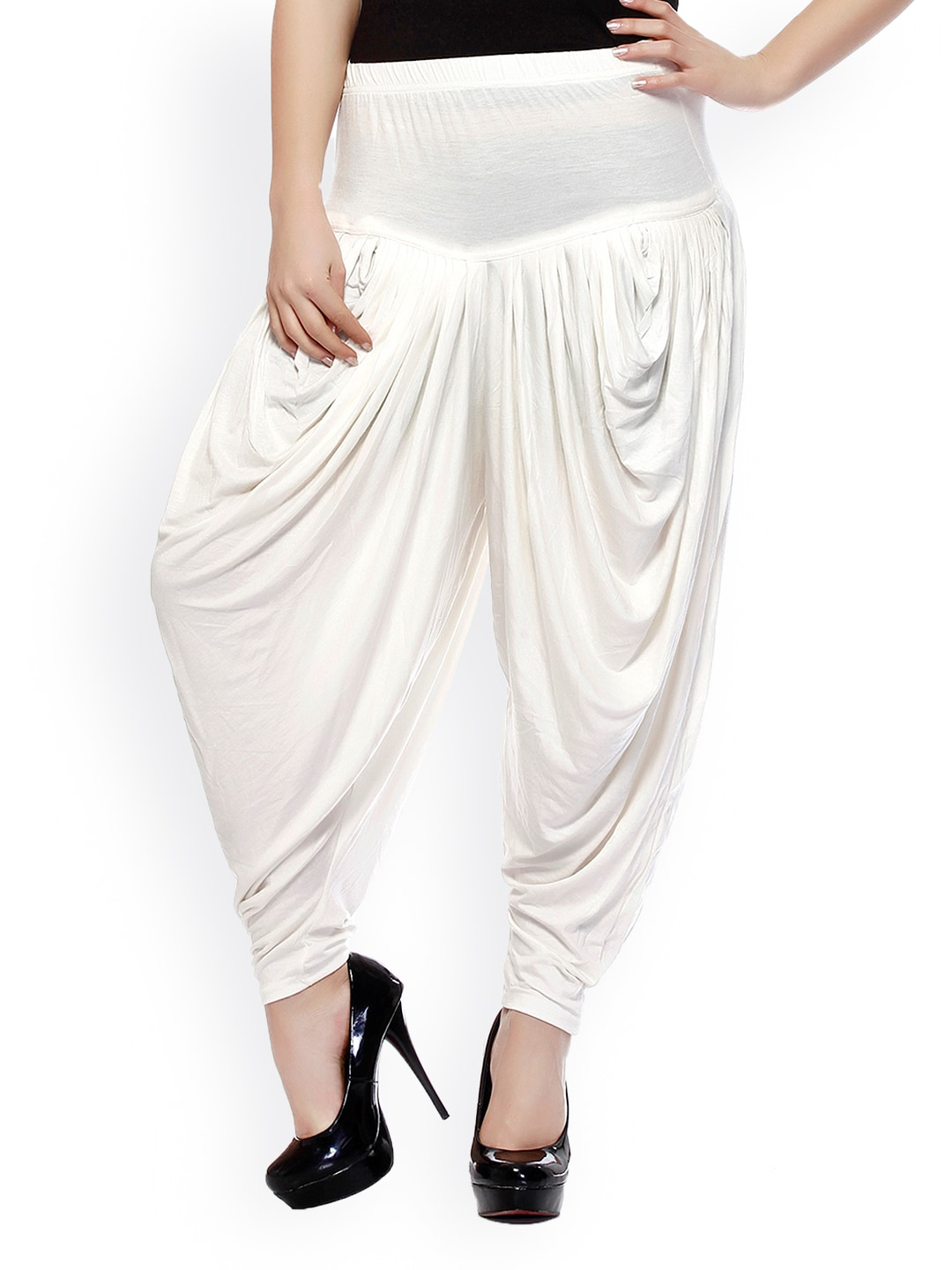 Sakhi Sang Women Off-White Harem Pants
