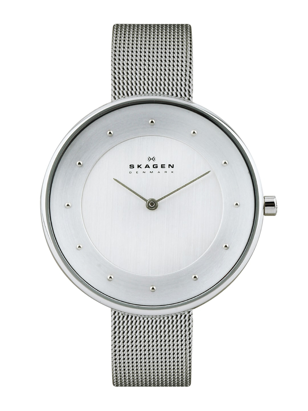Skagen Denmark Women Silver-Toned Dial Watch SKW2140