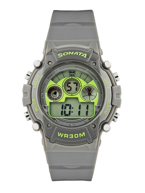 Sonata Men Grey Watch 77006PP02
