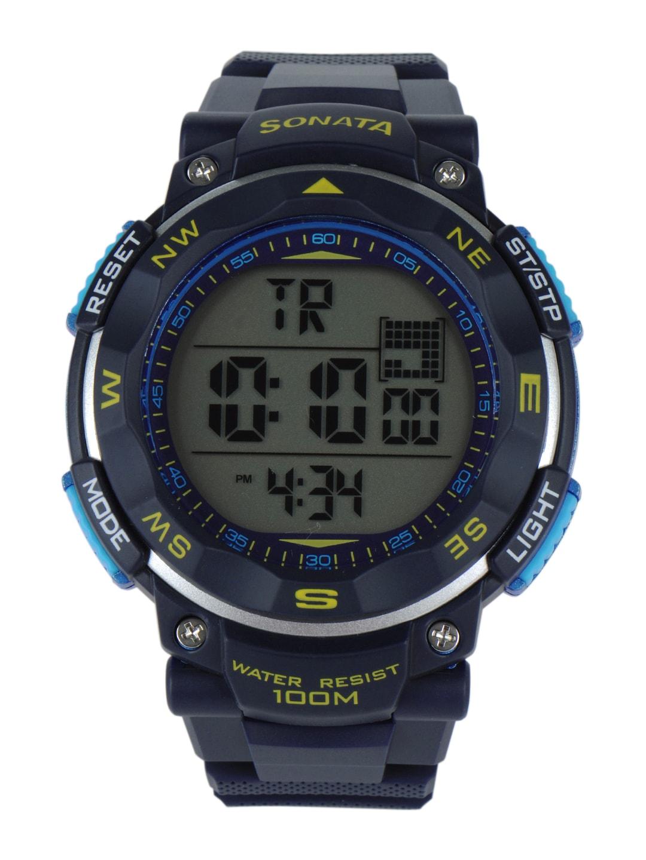 Sonata Men Ocean Series II Digital Watch 77011PP03J