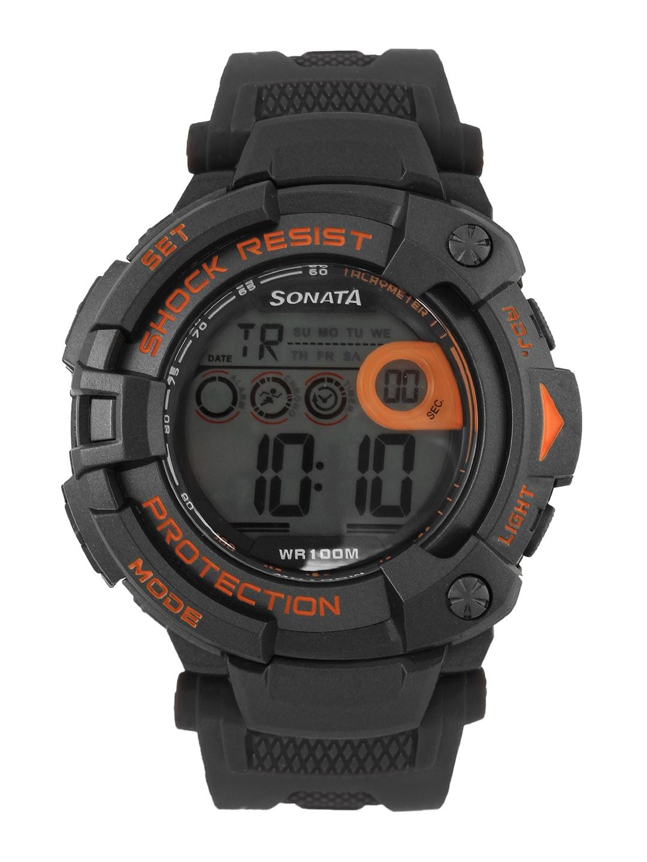 Sonata Men Ocean Series II Digital Watch 77010PP04J