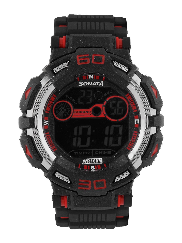 Sonata Men Ocean series II Digital Watch 77009PP01J