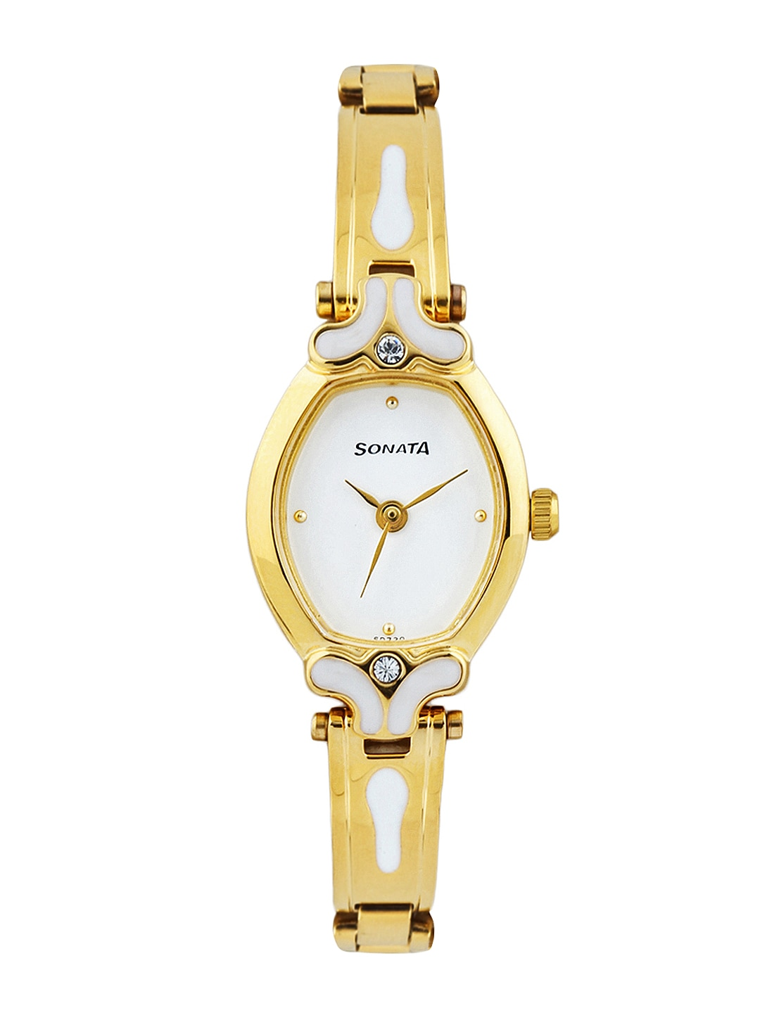 buy sonata white watches for myntra