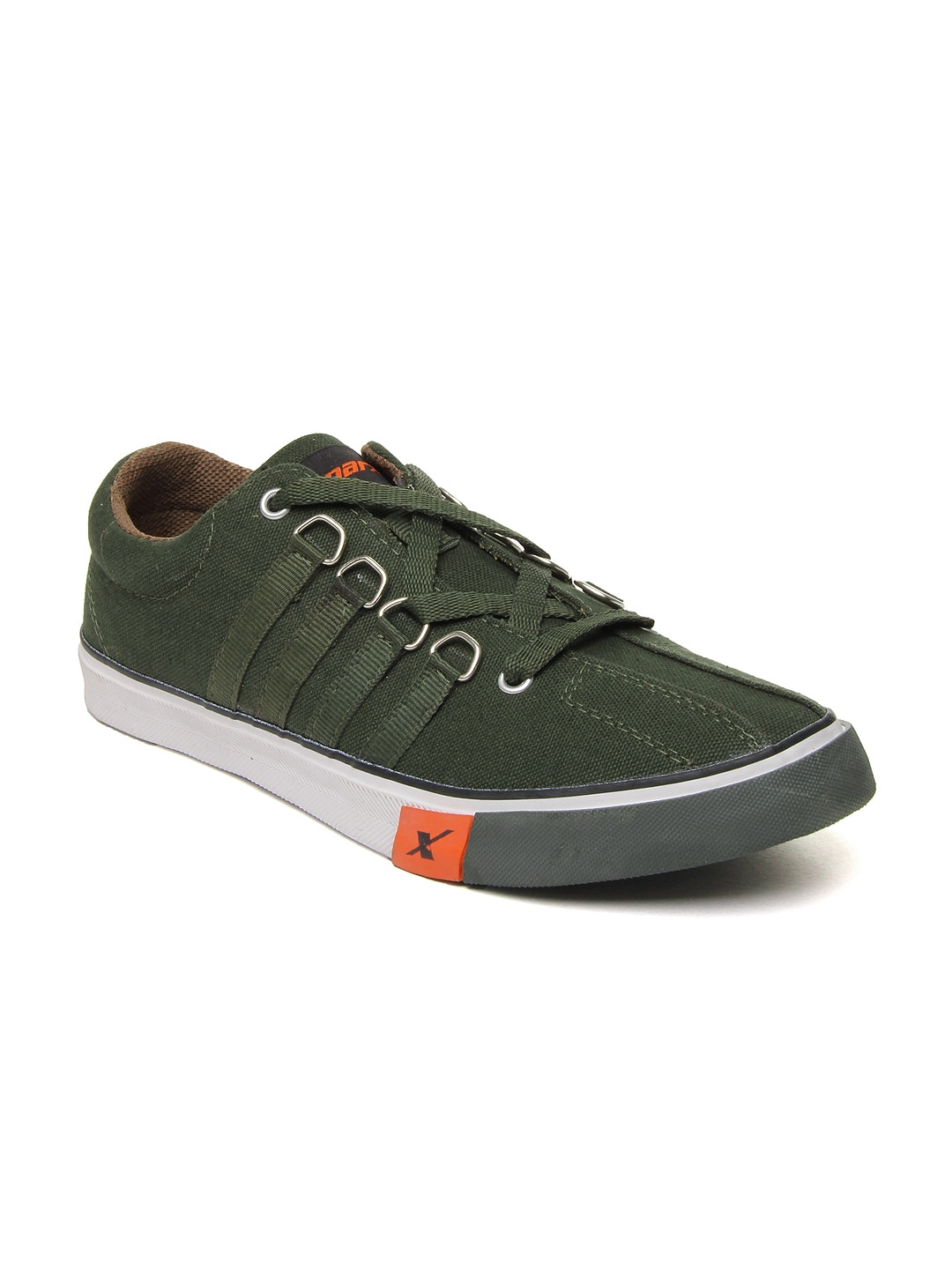 buy sparx green casual shoes 632 footwear for