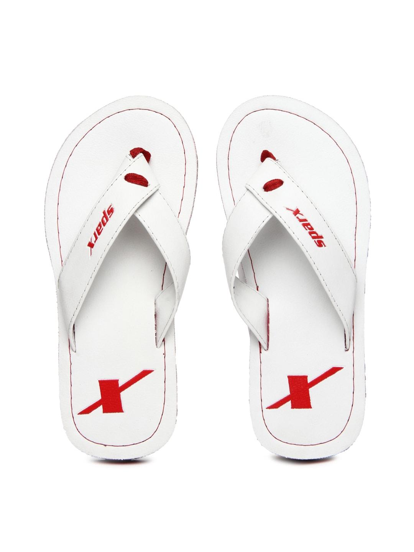 Sparx Sparx Men White Flip Flops