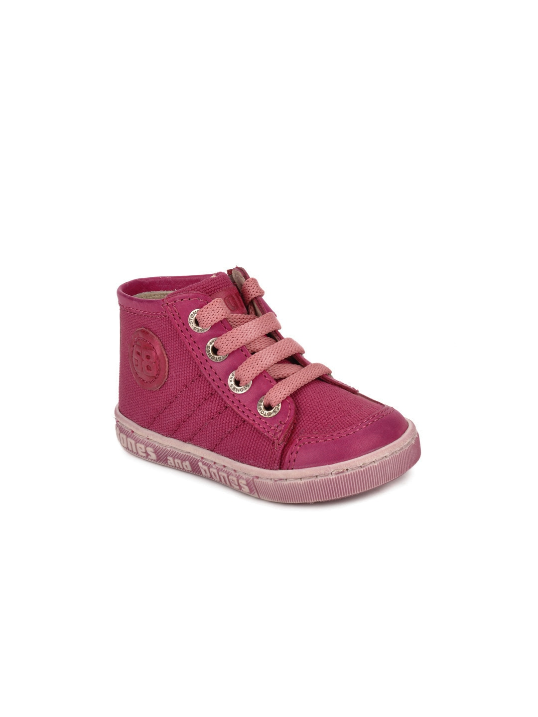 Stones and Bones Girls Pink Clio Canvas Shoes