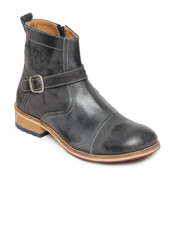 Style Centrum Men Grey Boots
