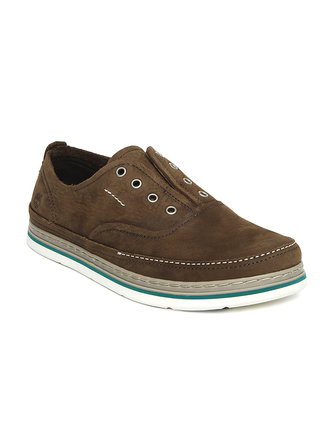 buy timberland brown leather casual shoes casual
