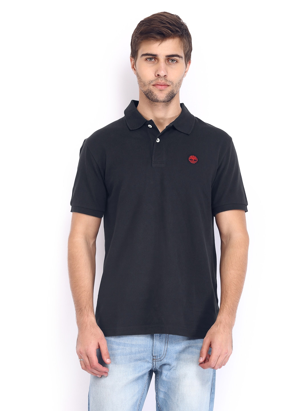 Timberland Timberland Men Dark Navy Polo T-Shirt (Multicolor)