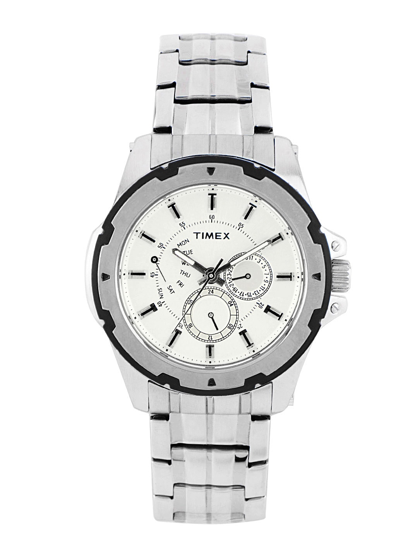 Timex Men Silver Dial Watch