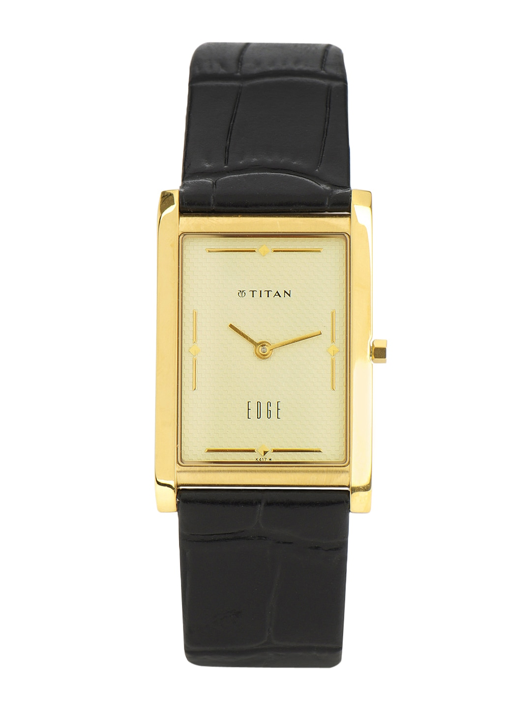 Titan Edge Men Cream-Coloured Dial Watch NC1043YL05