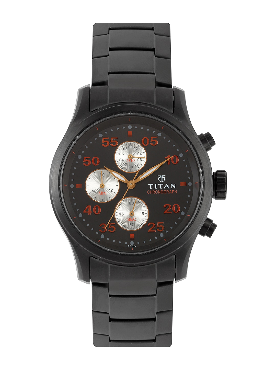 Titan Titan Men Black Dial Watch 1634NM01