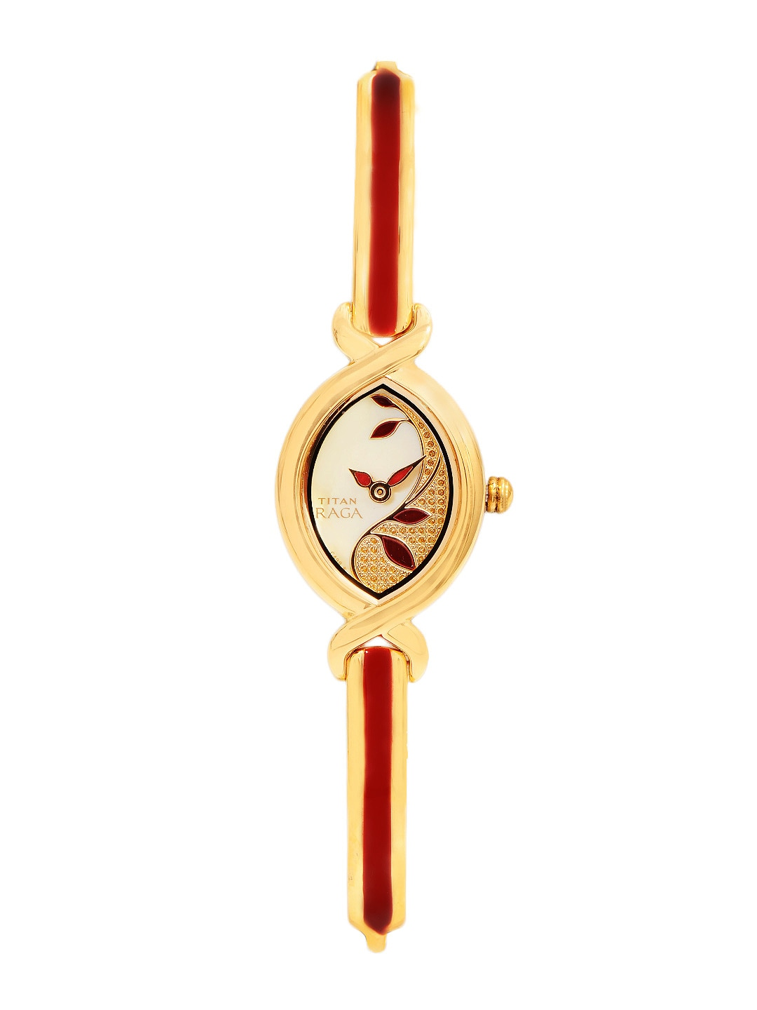 Titan Raga Women Gold-Toned Watch NC2251YM24