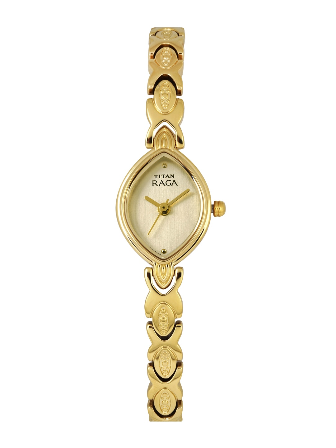 Titan Raga Women Gold-Toned Dial Watch 2250YM25