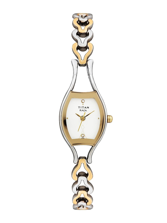 Titan Raga Women White Dial Watch NE2331BM01