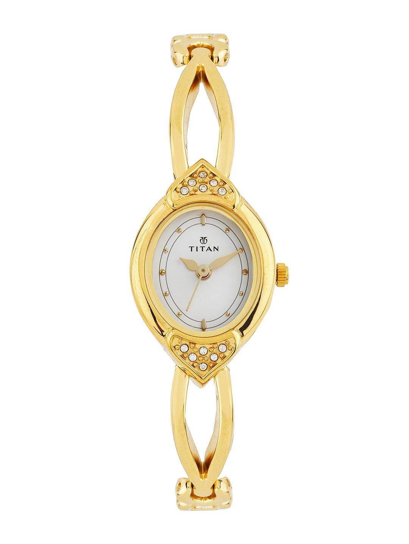 Titan Women White Dial Watch NE2468YM04
