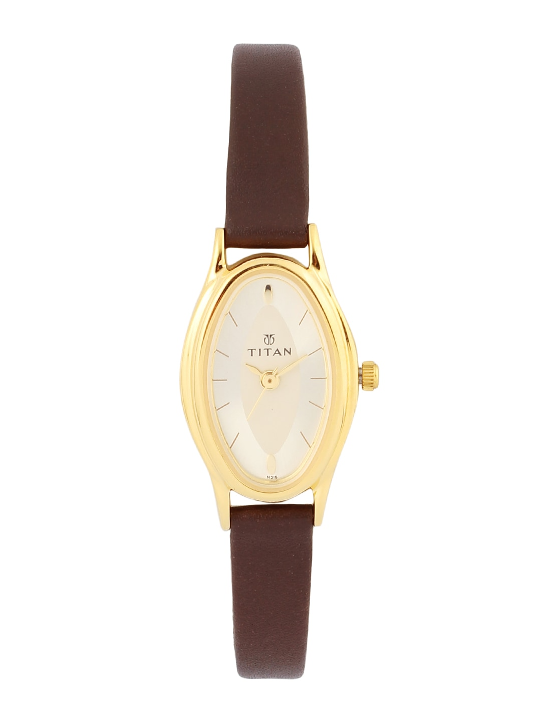 Titan Gold Watches For Women