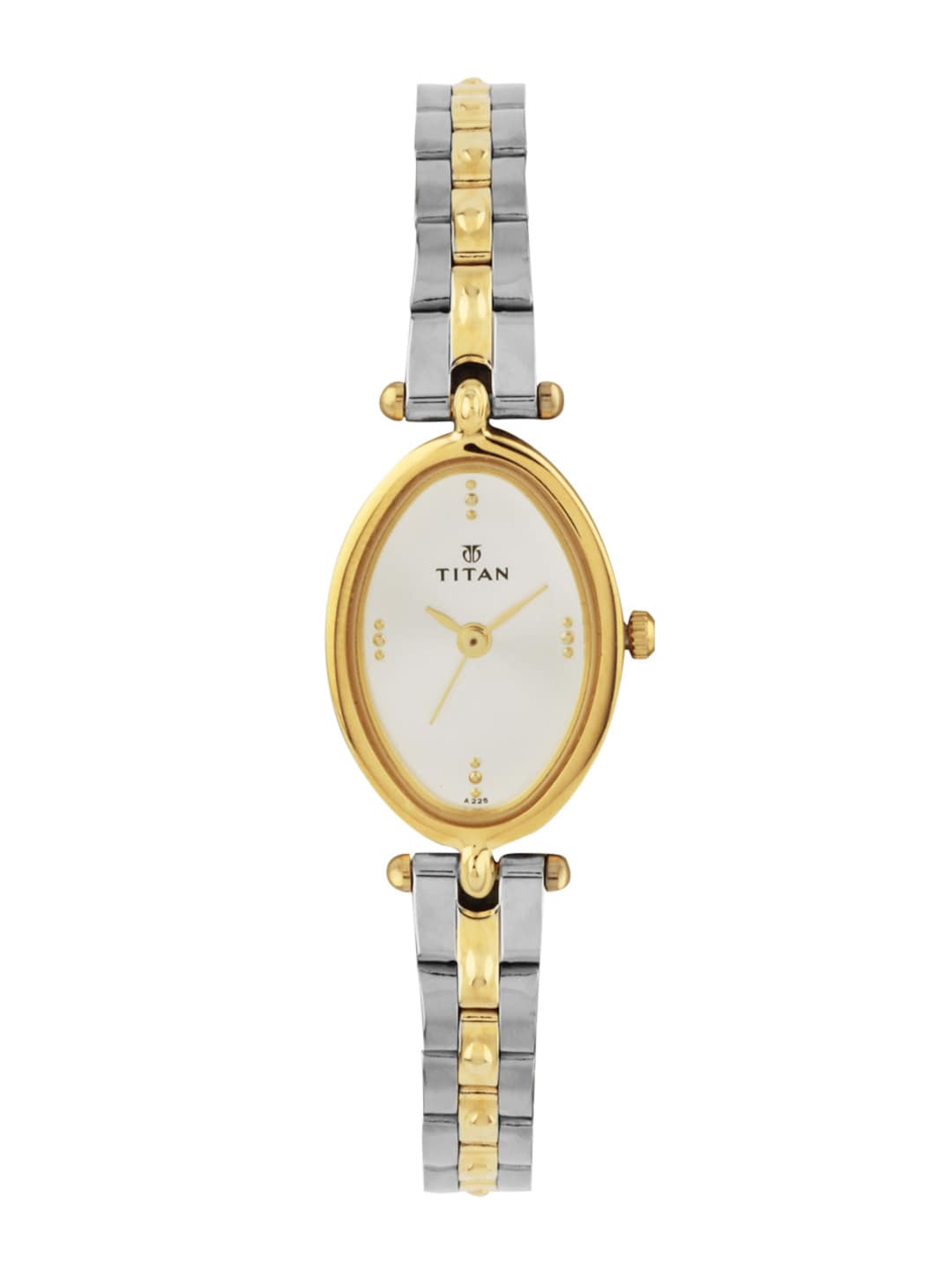 Titan Women White Dial Watch NE2418BM01
