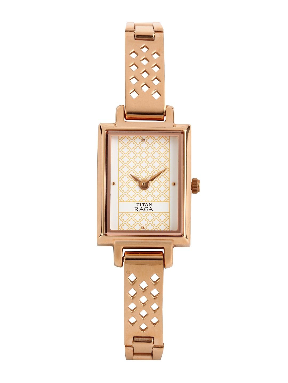 Titan Raga Women White Dial Watch NE2496WM01