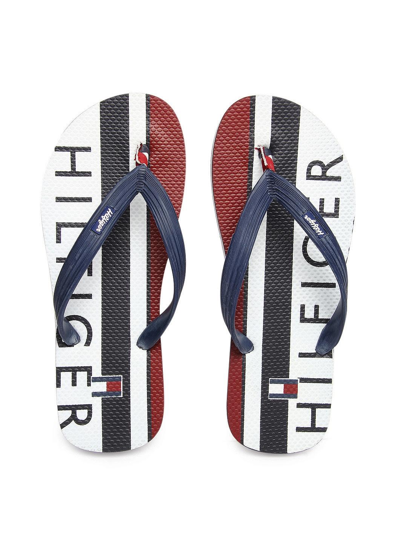 buy tommy hilfiger men navy flip flops 631 footwear. Black Bedroom Furniture Sets. Home Design Ideas