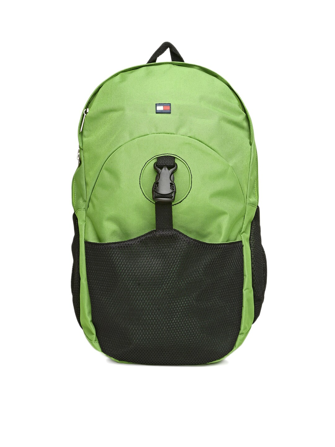 Tommy Hilfiger Men Green Bikers Collection Backpack