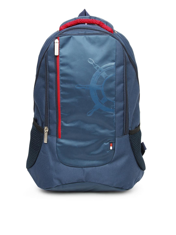 Tommy Hilfiger Men Navy Bikers Collection Backpack