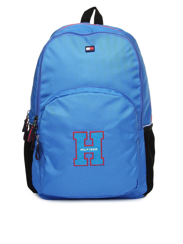 Tommy Hilfiger Unisex Blue Backpack
