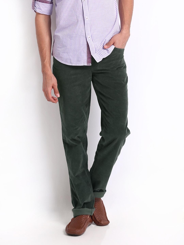 corduroy pants india - Pi Pants