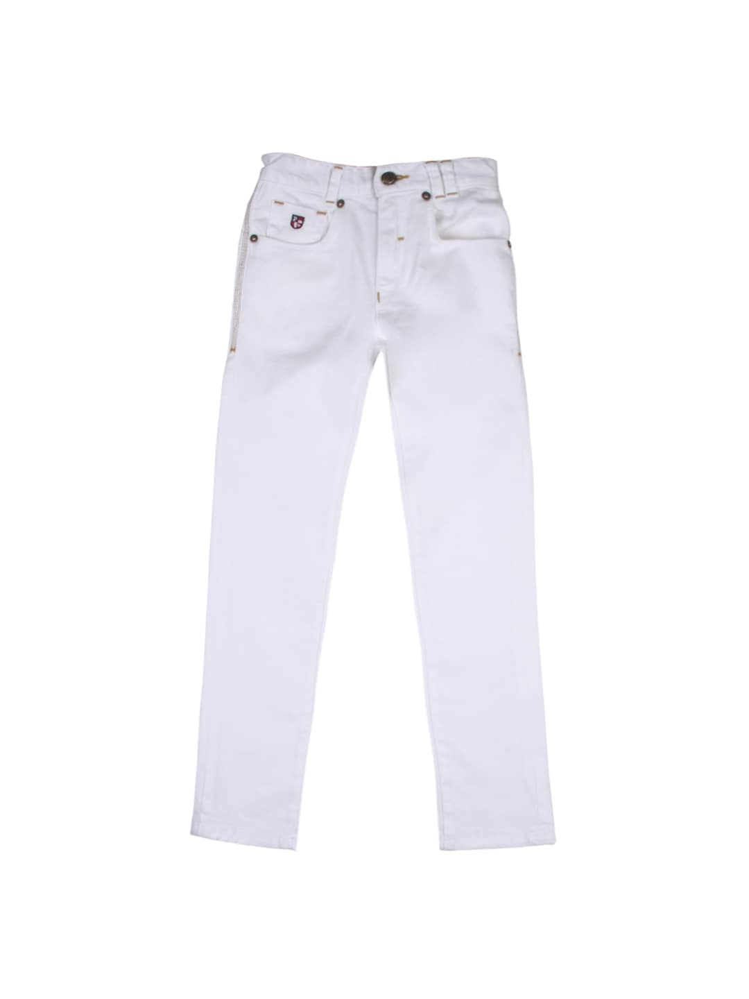 White Skinny Jeans For Kids - Jeans Am