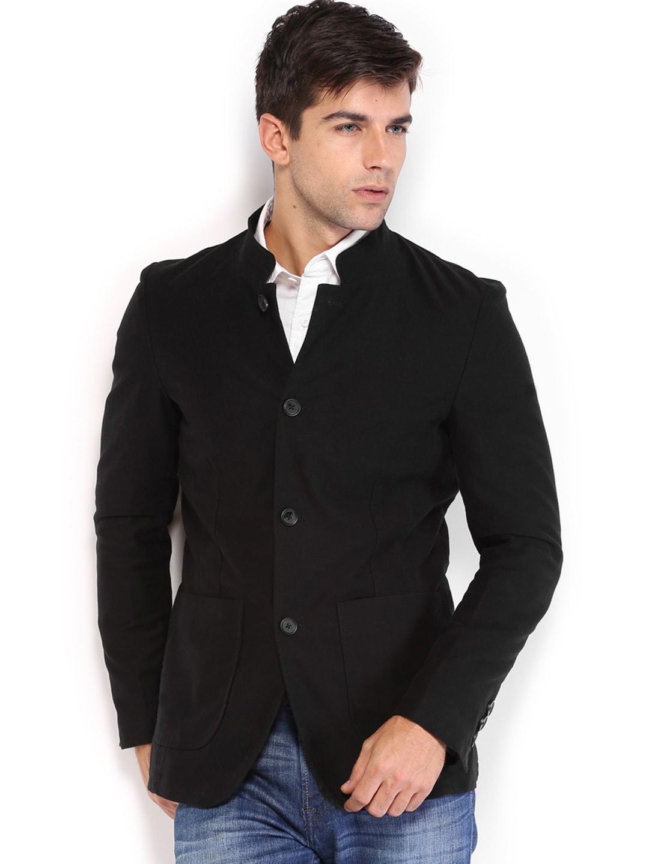 U.S. Polo Assn. Men Black Jacket
