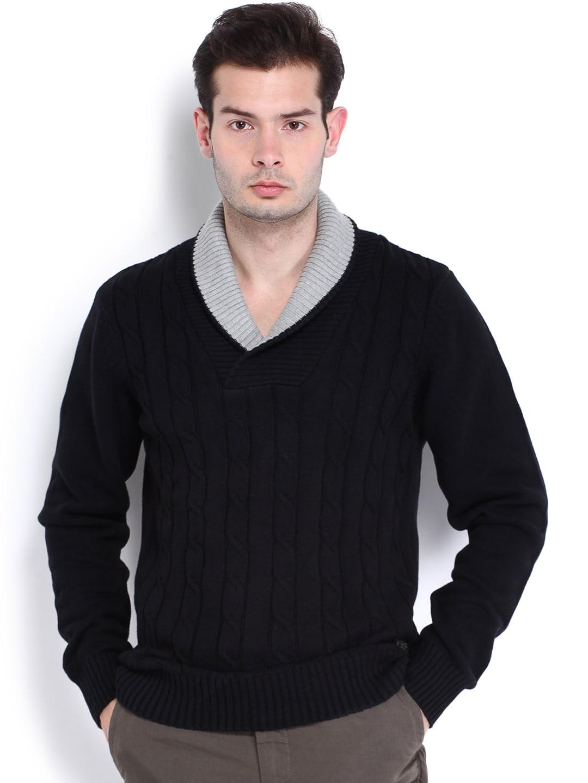 U.S. Polo Assn. Men Black Sweater