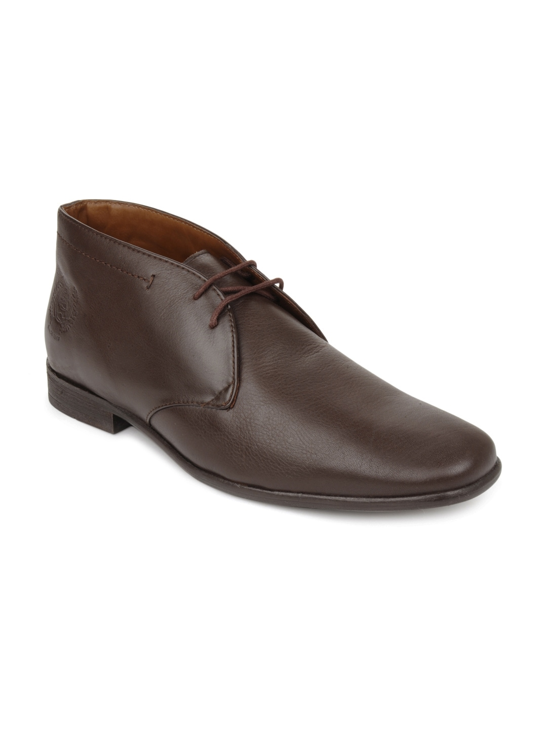 buy u s polo assn brown formal shoes 288
