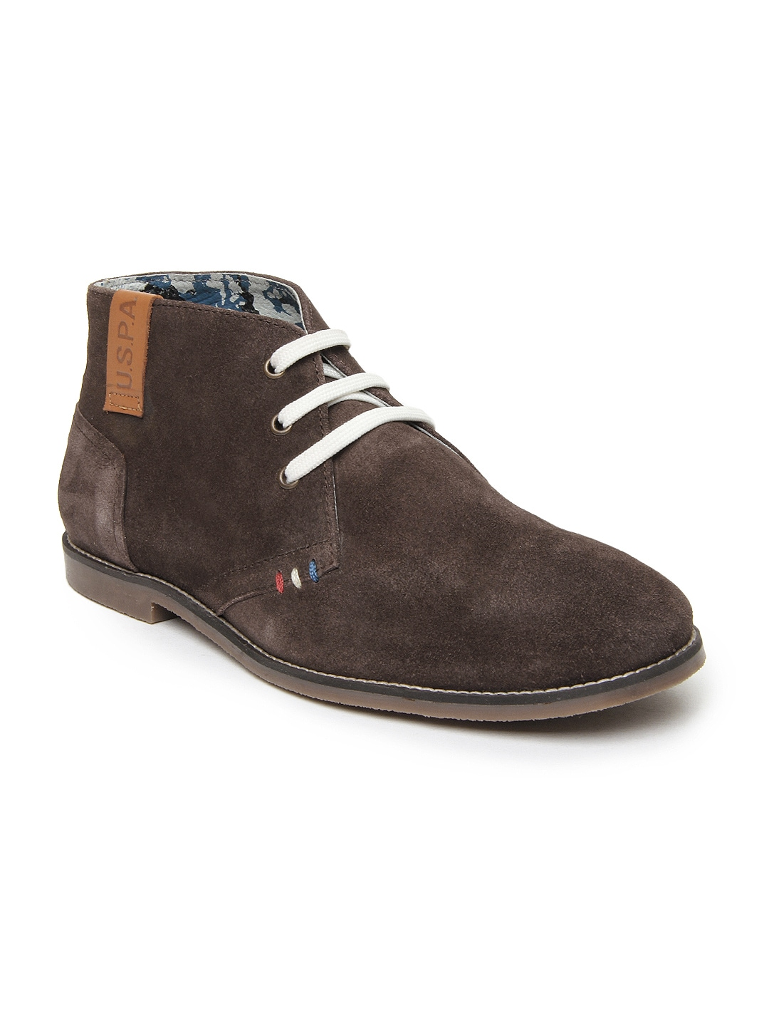 buy u s polo assn brown fort worth casual shoes