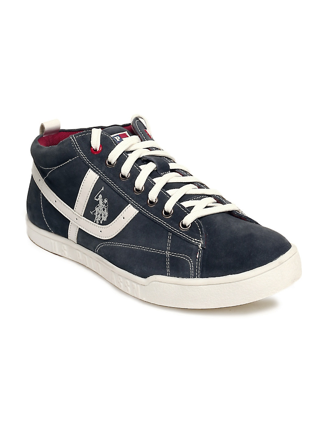buy u s polo assn navy blue casual shoes casual