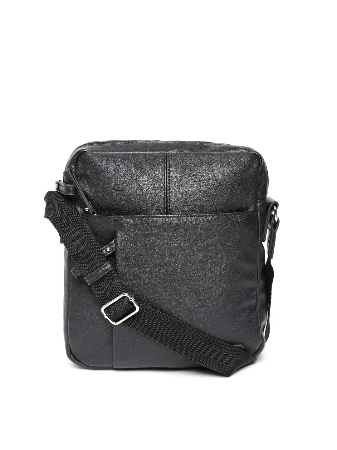 Buy United Colors Of Benetton Men Black Sling Bag - 598 - Accessories ...