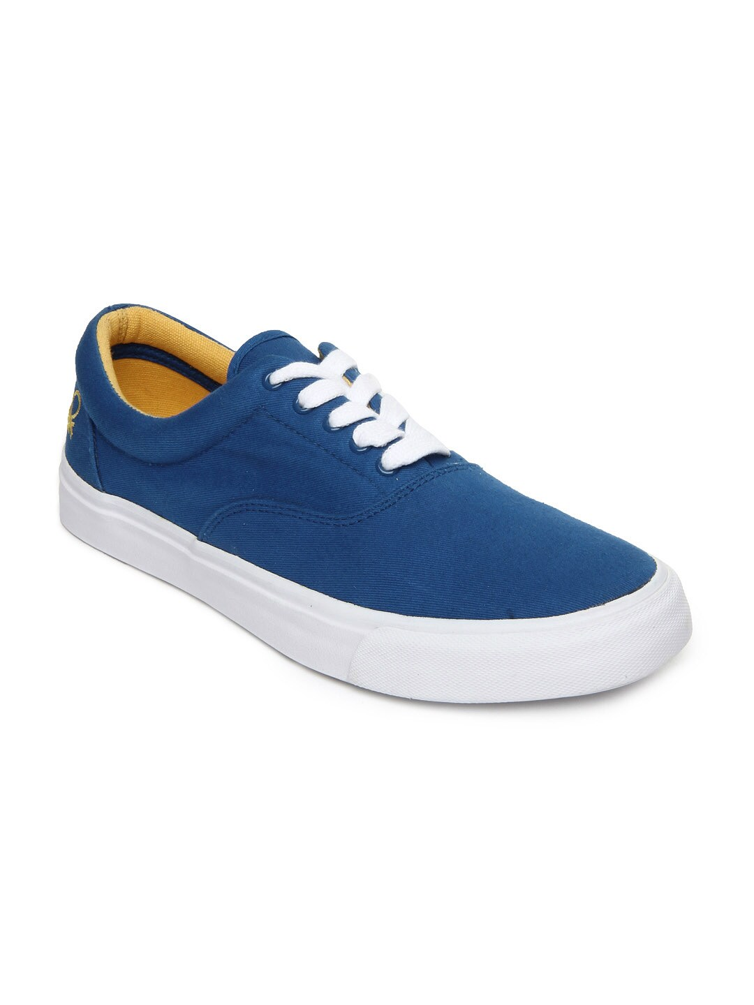 buy united colors of benetton blue casual shoes