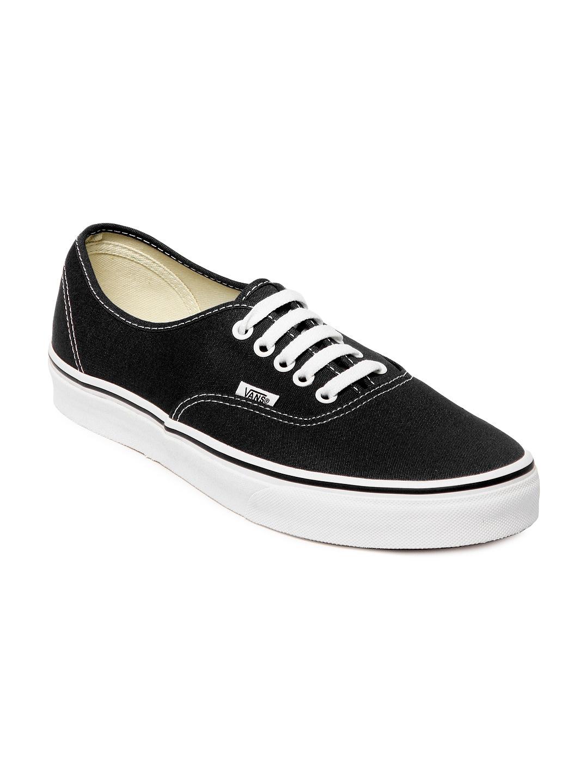 buy vans black authentic casual shoes 632 footwear