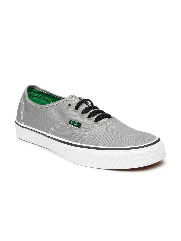 f35f01c550 Buy Vans Men Grey Authentic Casual Shoes 1381560 for men online ...