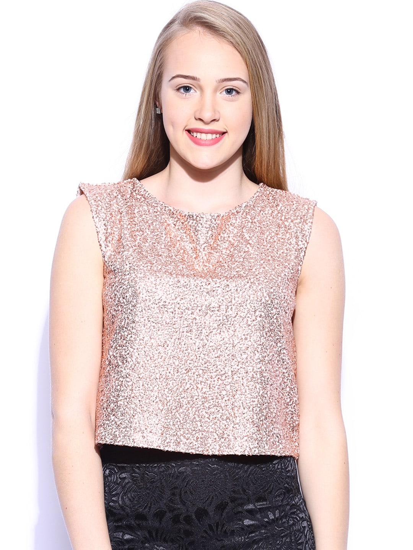 Buy Vero Moda Marquee By Karan Johar Women Peach Coloured