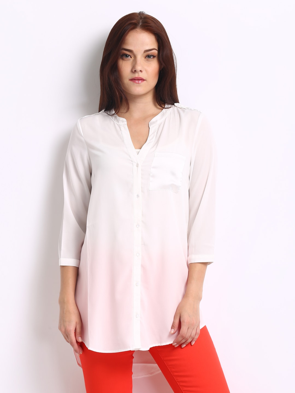 Vero Moda Women White Tunic