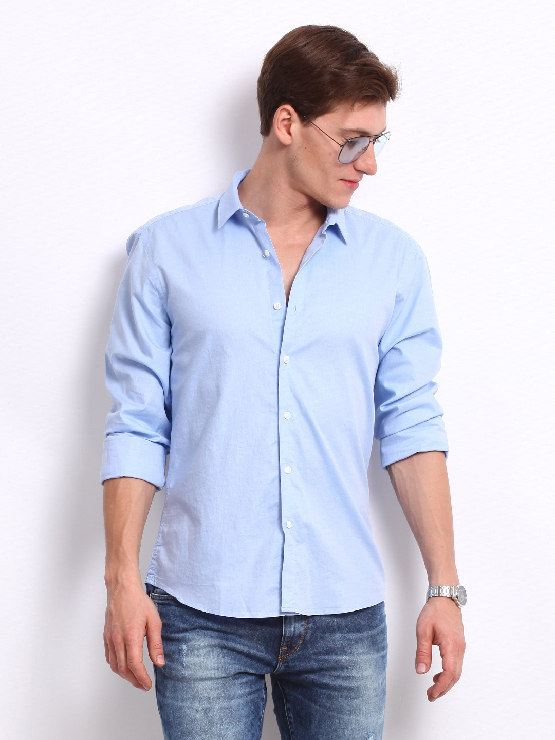 Mens Light Blue Shirt