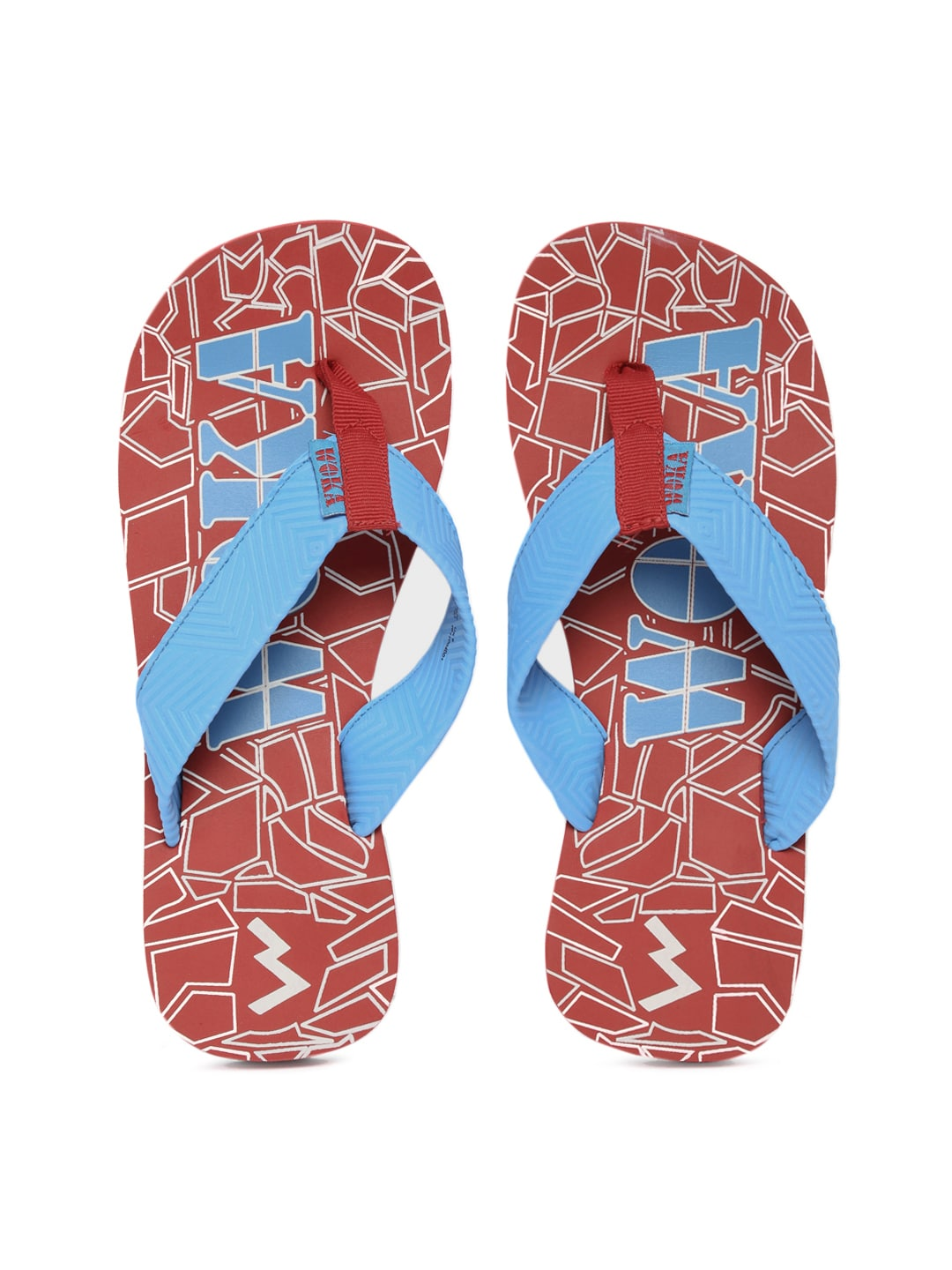 WOKA Men Blue Flip-Flops