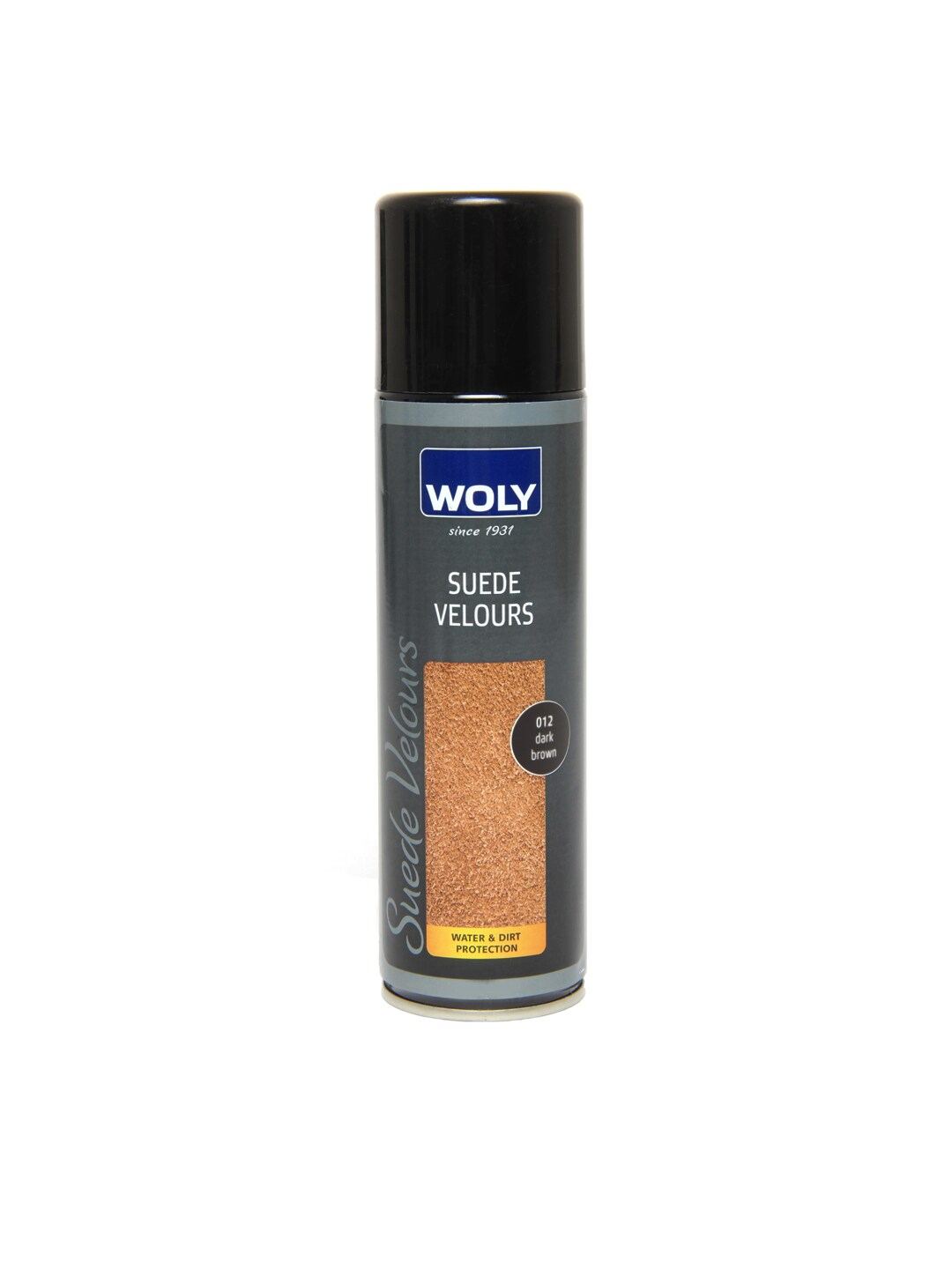 Woly WOLY Dark Brown Suede Velours Spray (Multicolor)