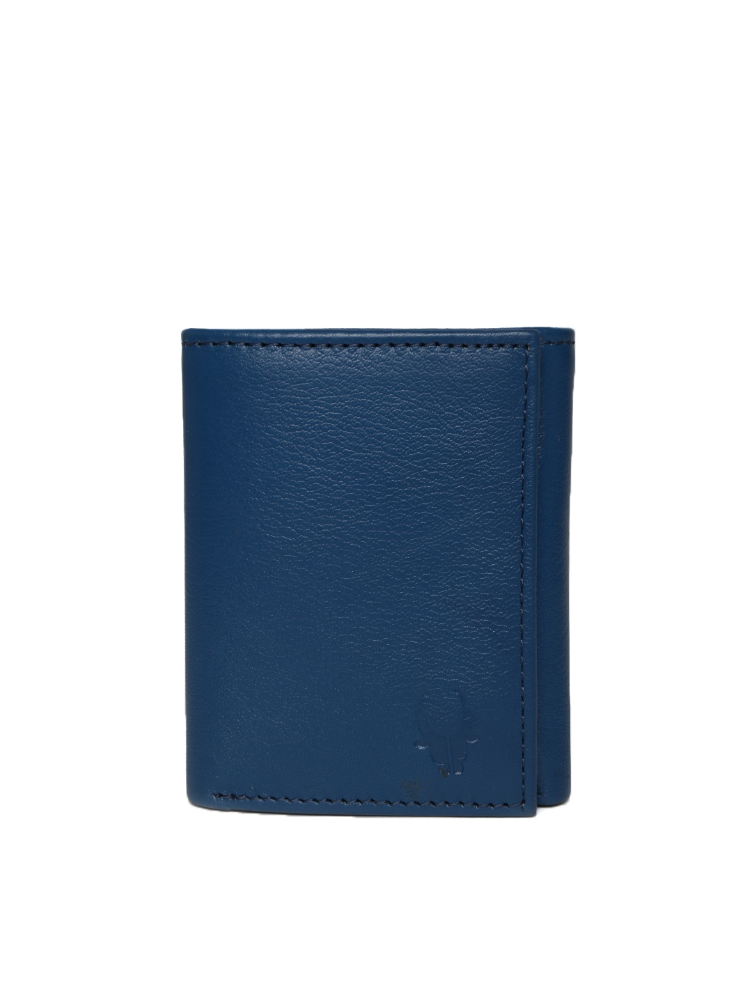 WildHorn Men Blue Leather Wallet