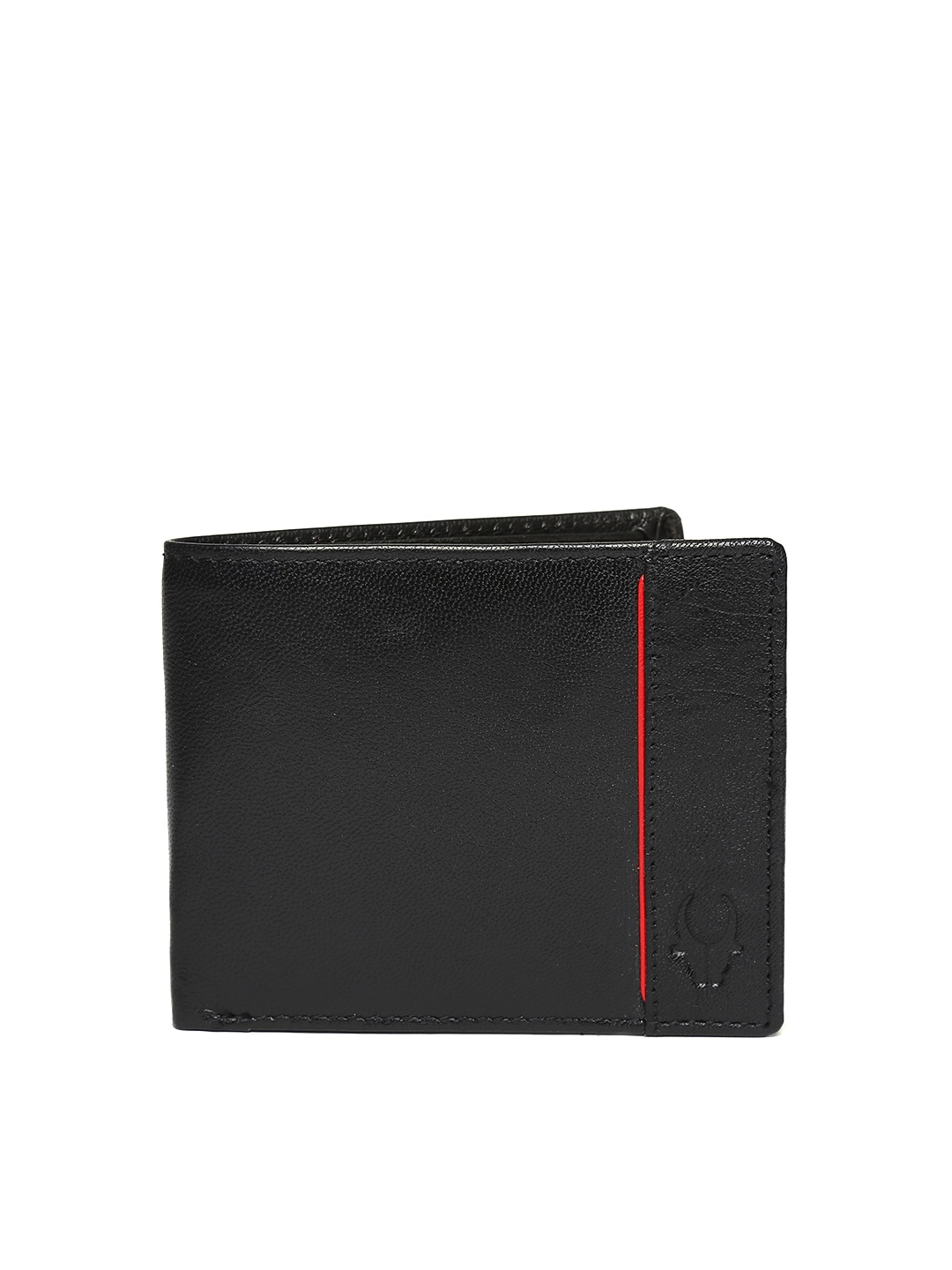 WildHorn Men Black Leather Wallet