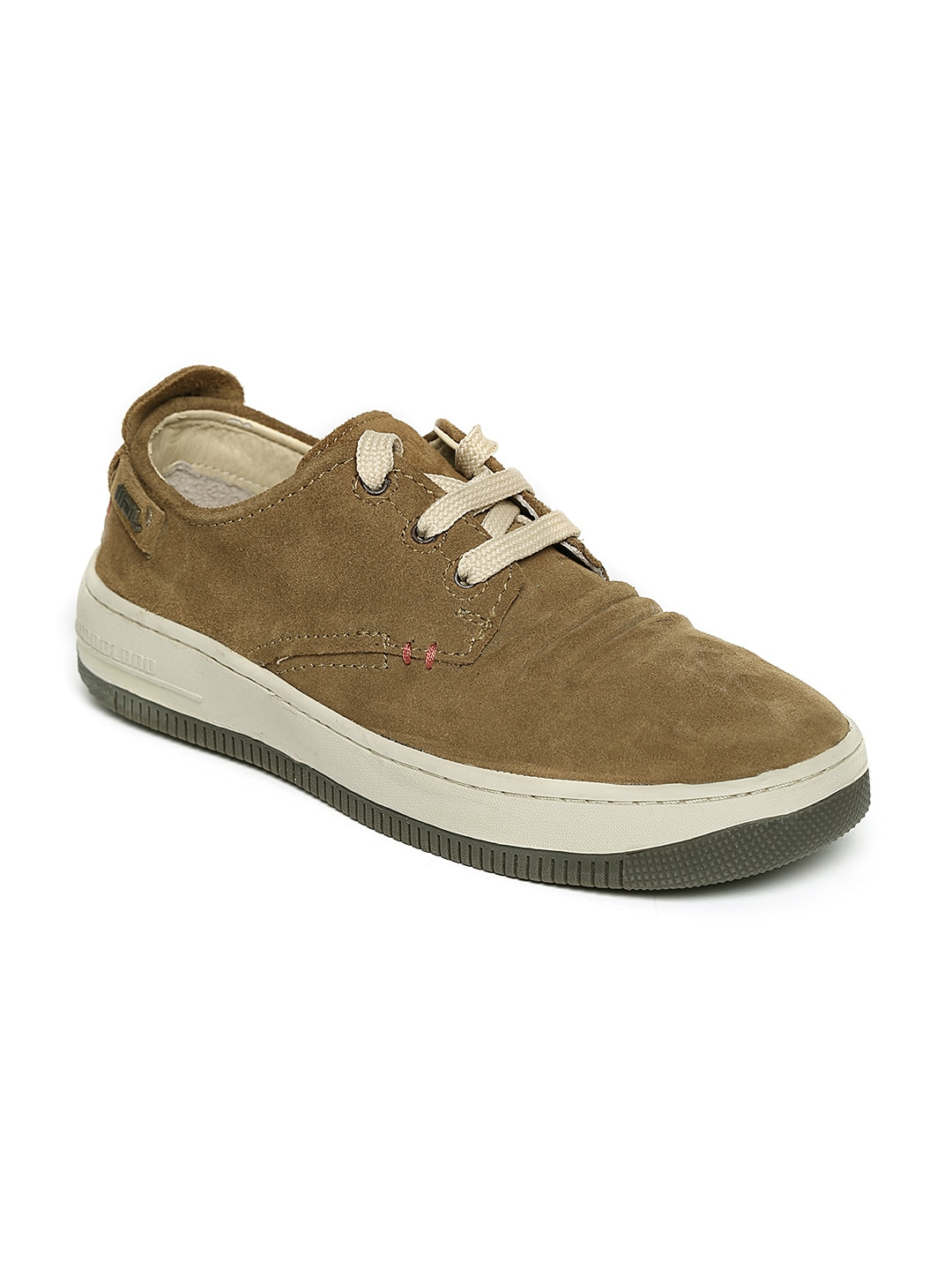 buy woodland camel brown leather casual shoes casual