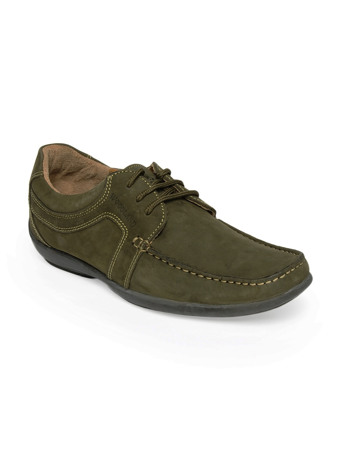 buy woodland olive green shoes 288 footwear for