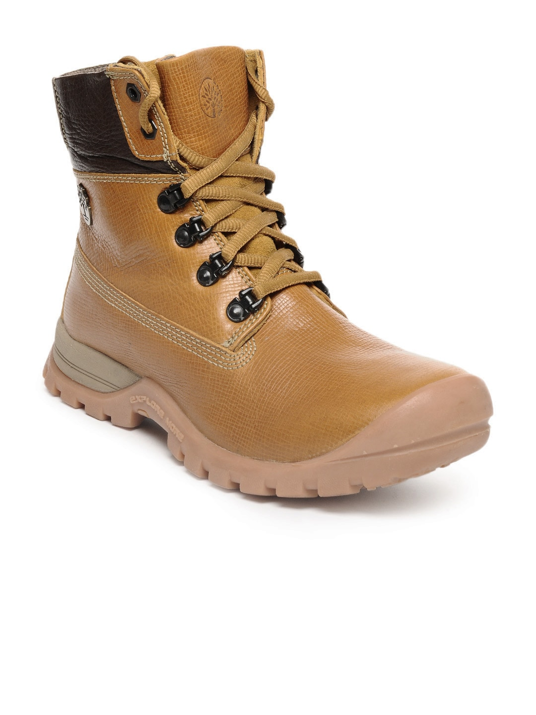 Buy Woodland Men Tan Boots - 632 - Footwear for Men - 84408