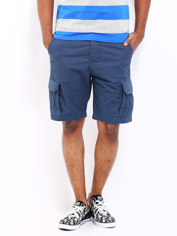 Wrangler Wrangler Men Blue Cargo Shorts
